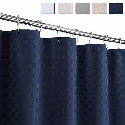caromio extra long shower curtain 96 inches