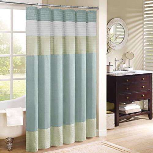 carter polyester faux silk shower