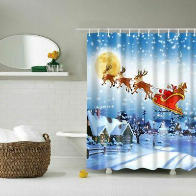 Christmas Fabric Shower Snowman With