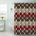 Creative Home Ideas Clarisse Faux Textured Shower Curtain