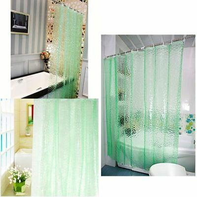 Clear Water Cube Thickened Bathroom Curtain Waterproof