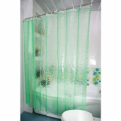 Clear Water Thickened Bath Shower Curtain Panel