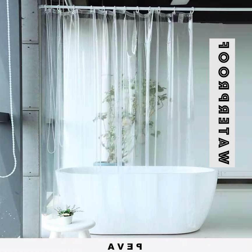 Clear Shower Anti-Bacterial Hooks Water