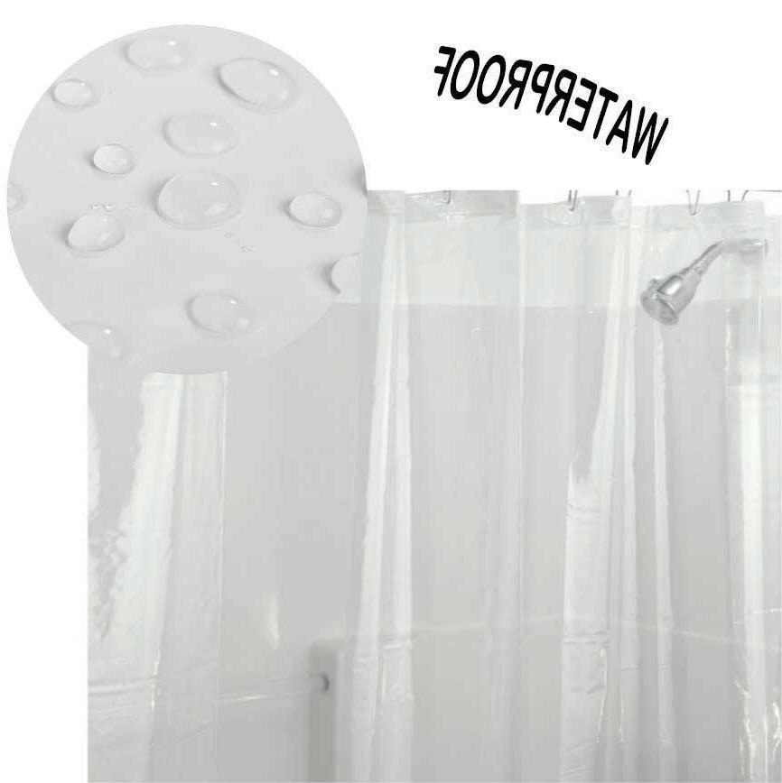 Clear Anti-Bacterial PEVA Hooks Water US