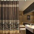 """Riverbyland Coffee Elegance Polyester Shower Curtains 72"""" x"""