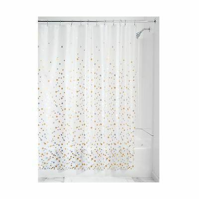 confetti decorative peva shower curtain