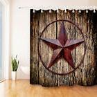 Creative Bath Western Texas Star Polyester Bathroom Shower C