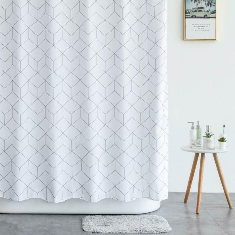 Aimjerry Shower Curtain Waterproof x