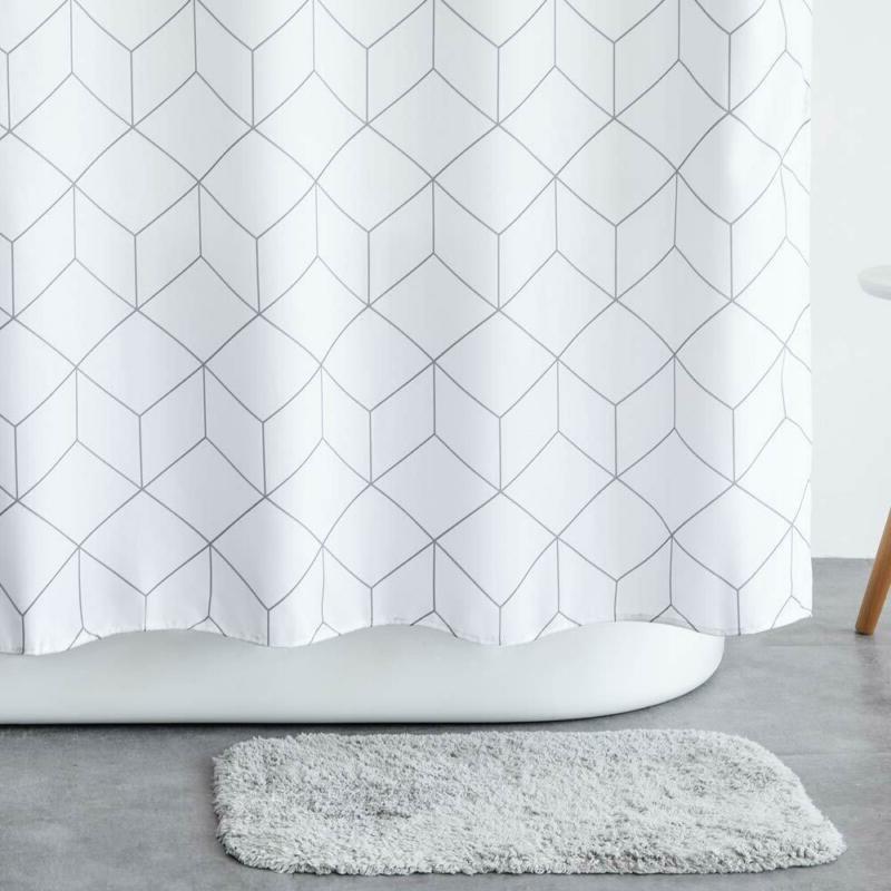 Aimjerry Fabric Shower Curtain Waterproof
