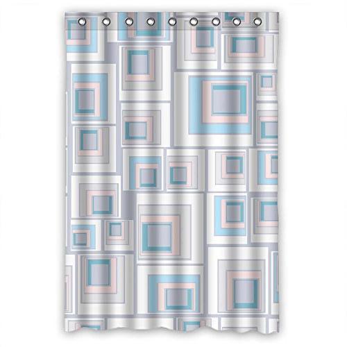 custom healthy colorful geometry shower