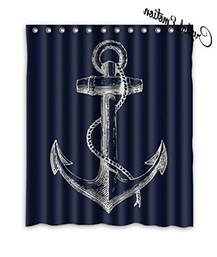 custom nautical navy blue anchor