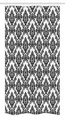 Damask Stall Shower Curtain by Ambesonne, Antique Classic Da