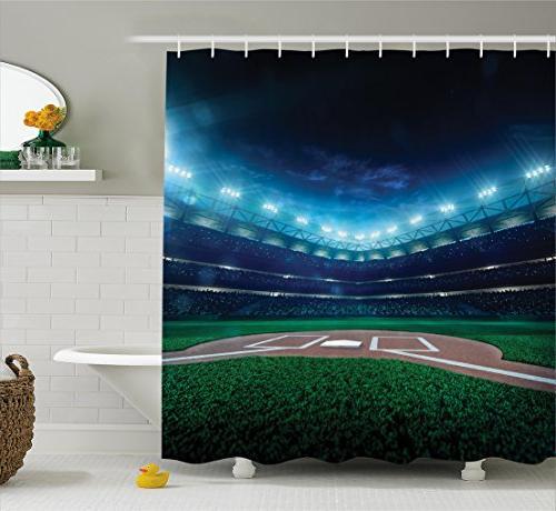 decor shower curtain set
