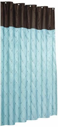 Royal Bath Diamond Design Balmoral Fabric Shower Curtain in