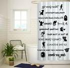 Disney Lessons Learned Mash Up Custom Shower Curtain Size 60