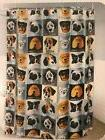 dogs with eyeglasses peva shower curtain 70
