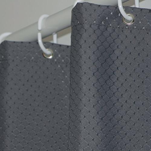 modern charcoal waffle weave fabric