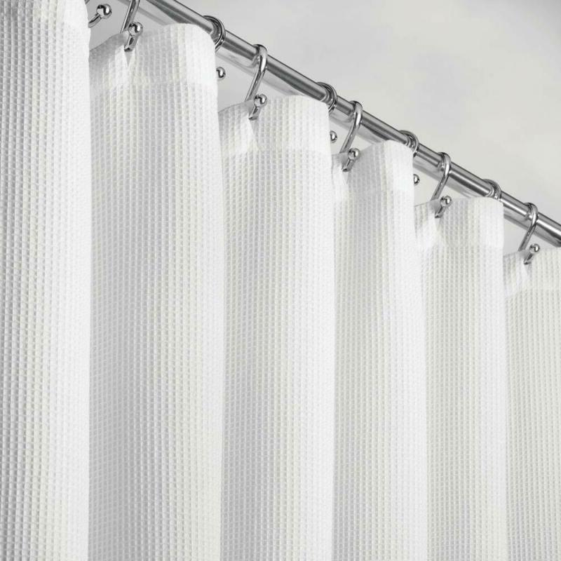 mDesign Extra Long Premium 100% Cotton Waffle Weave Fabric S