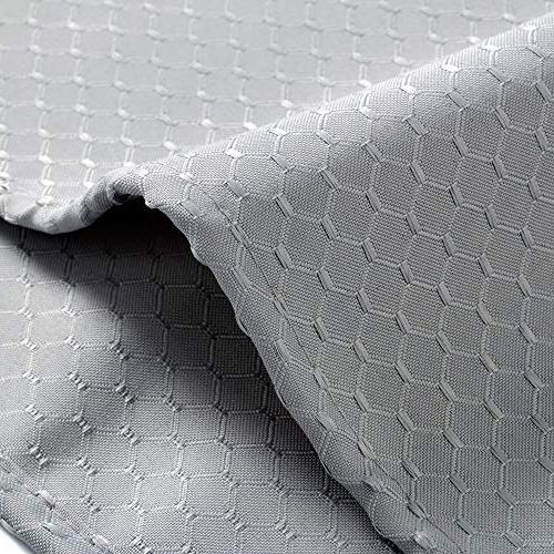 Aoohome Waffle Weave Weighted Heavy Mildew Grey