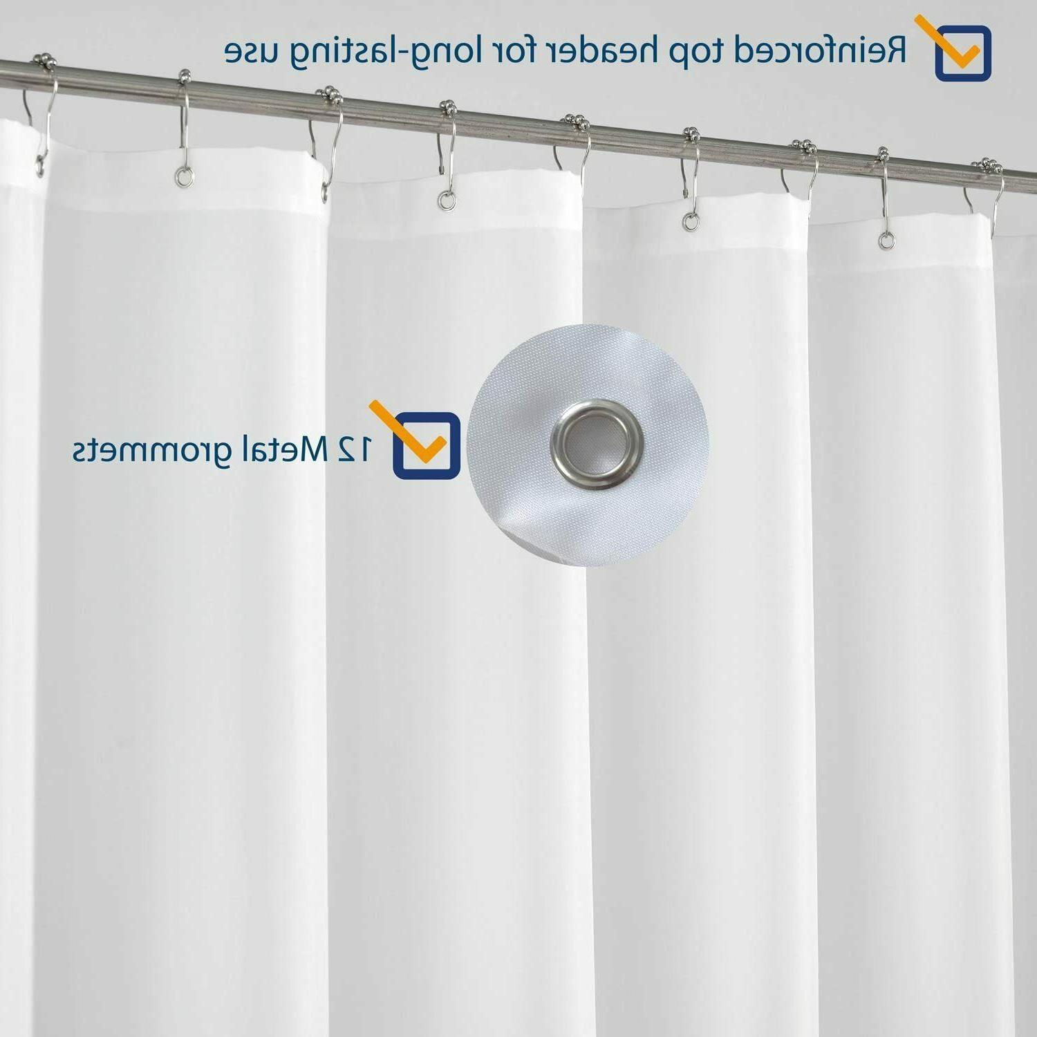 Extra Long Curtain Liner 96 Hotel Washable,