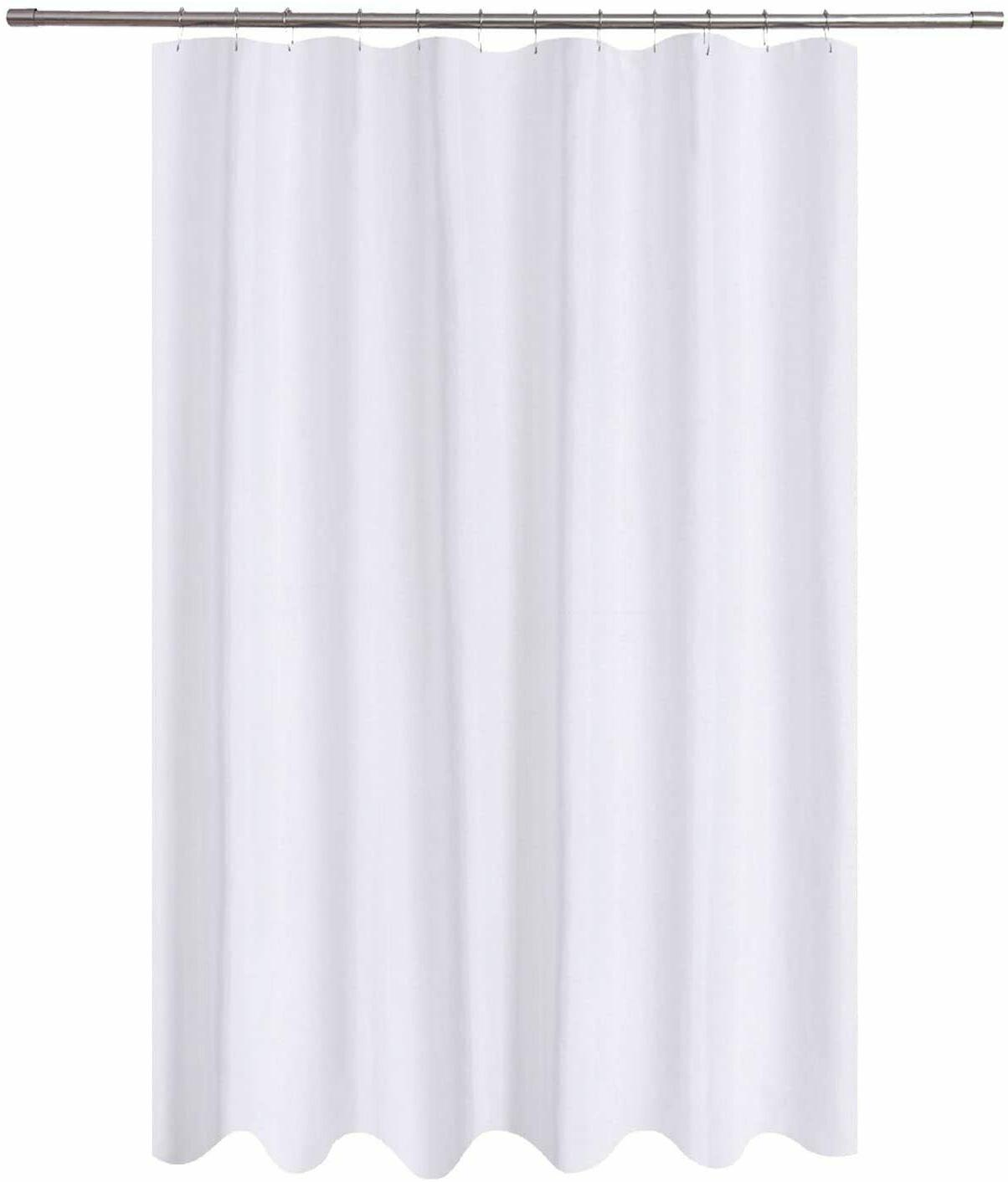 extra long shower curtain liner fabric 72