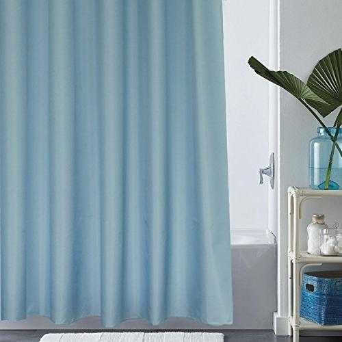 extra long shower curtain solid