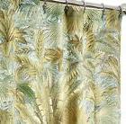 Extra Long Shower Curtains Tommy Bahama Fabric Green Bahamia