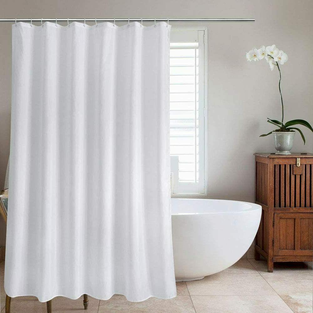 Nice Extra Wide White Machine Washable Farmhouse Fabric Show