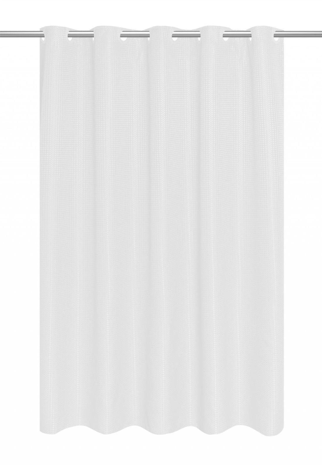 EZ-ON Hookless Dobby Fabric Curtain Liner - Assorted