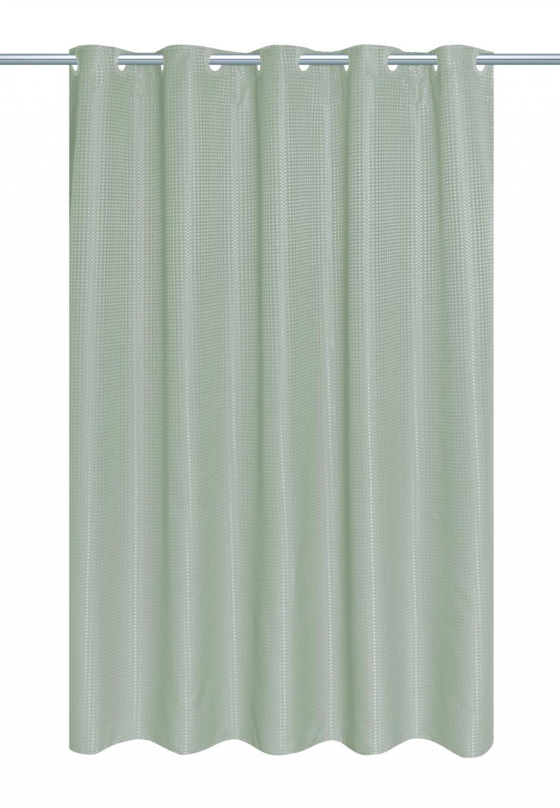 EZ-ON Hookless Fabric Shower Curtain With Liner - Colors