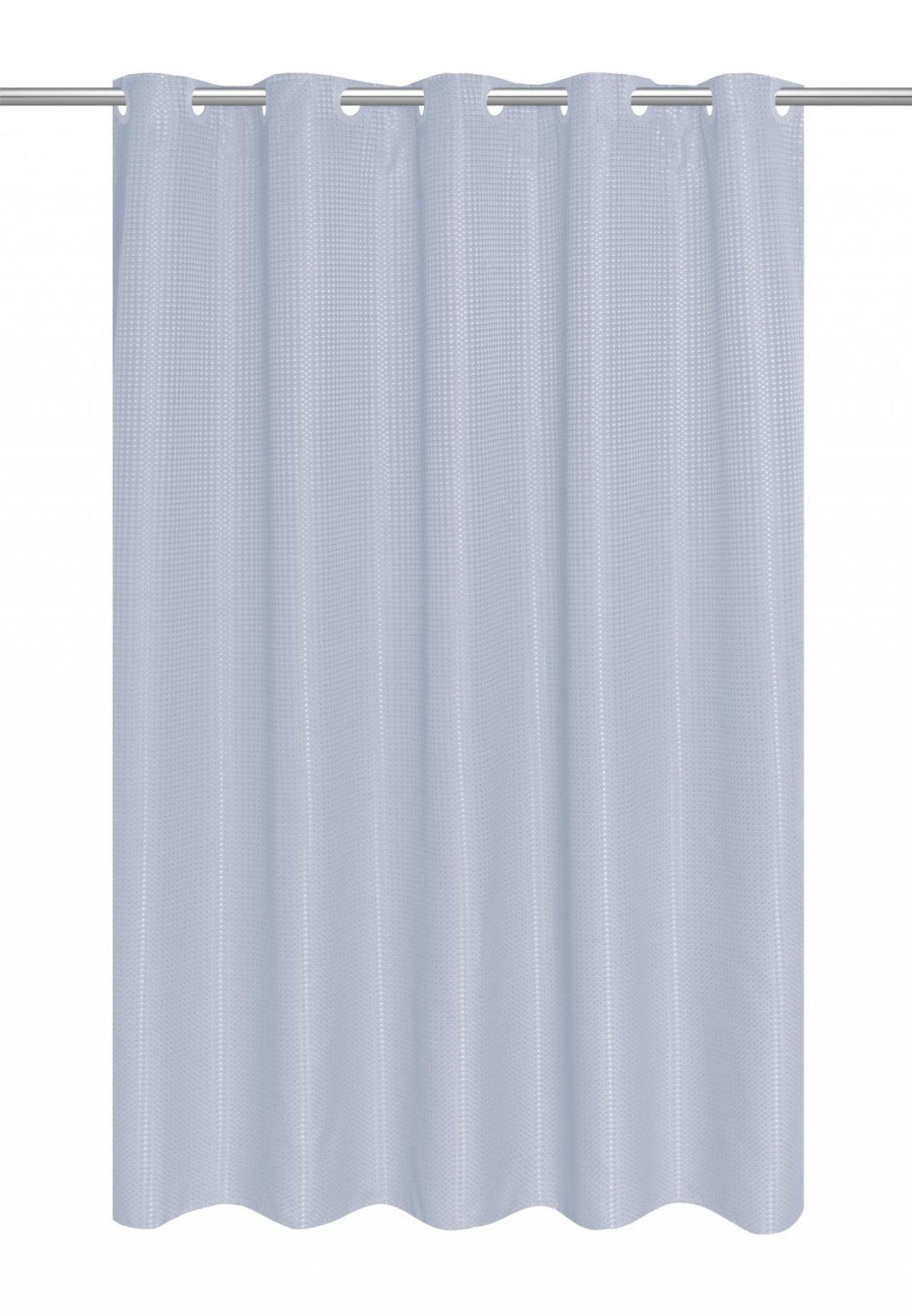 EZ-ON Dobby Heavy Fabric Shower Liner Assorted Colors