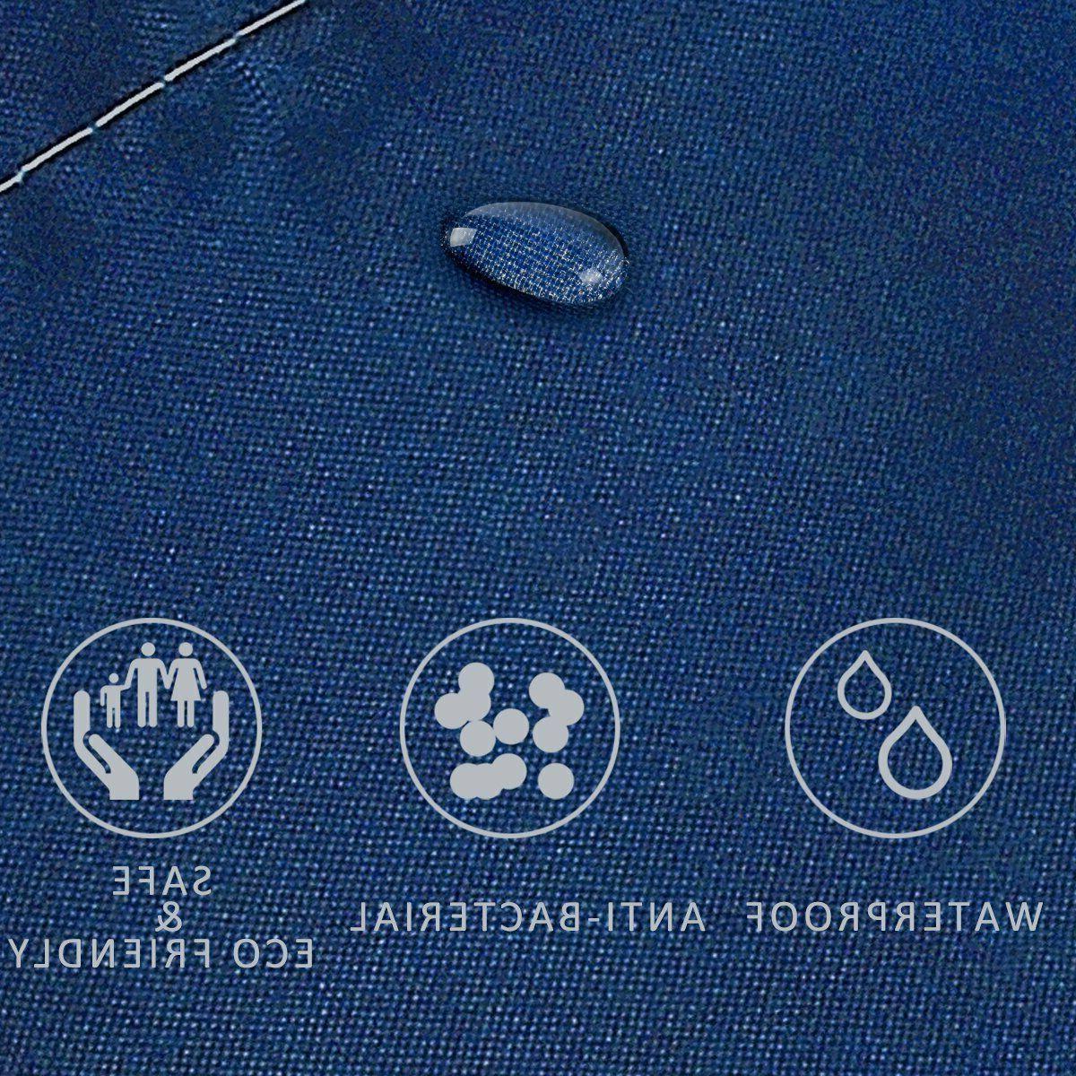Fabric Shower 72 x 72 for Bathroom Odorless