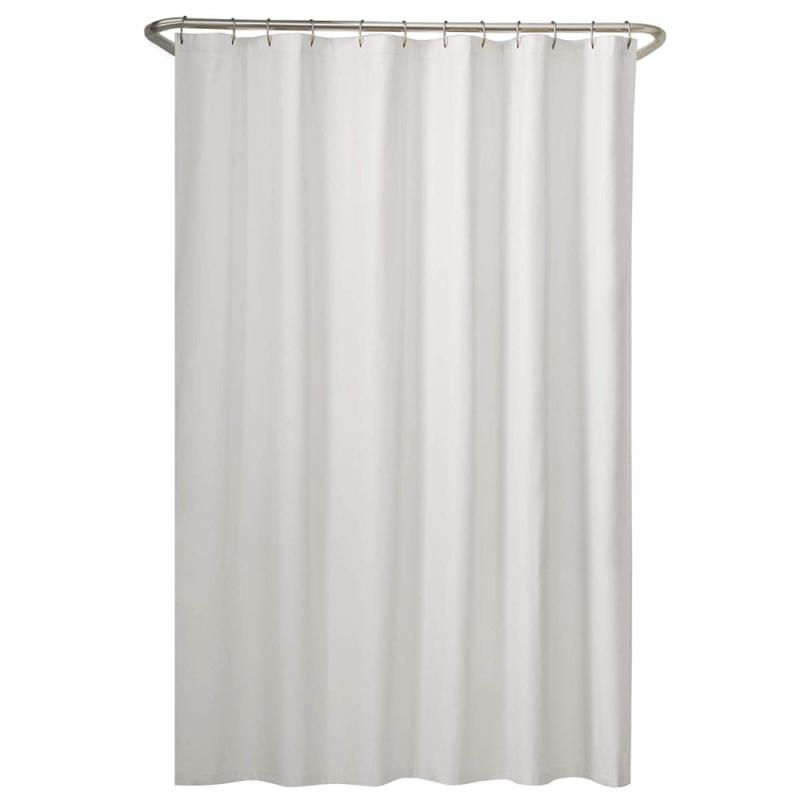 fabric shower curtain liner white quick machine