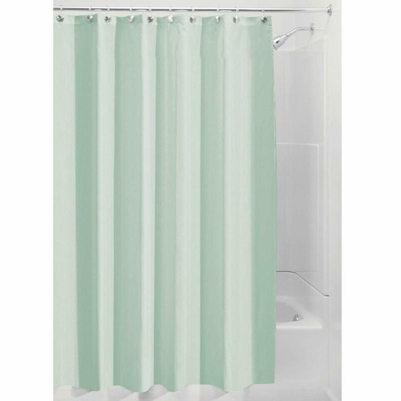 Interdesign Fabric Shower Curtain, Mold-And Mildew-Resistant