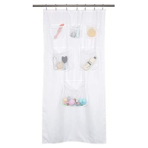 fabric stall shower curtain liner