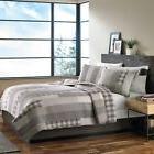 Eddie Bauer Fairview 3-Piece Cotton Reversible Quilt Set Ful