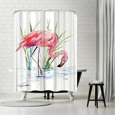 Americanflat 'Flamingo Curtain