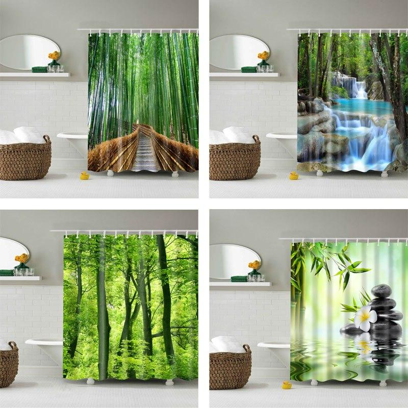 forest trees printed 3d bath font b