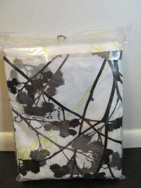 "InterDesign Freesia Fabric Curtain, 72 72"","