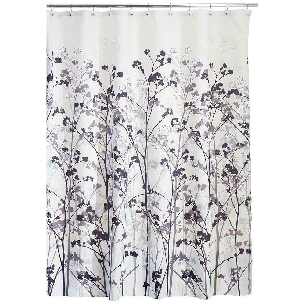 freesia fabric shower curtain 72 x 72