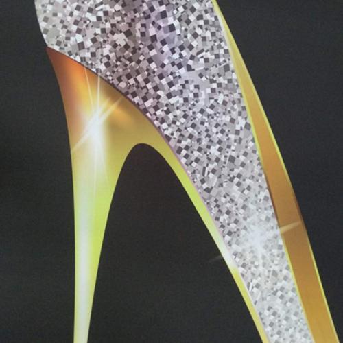 KOTOM Curtain, Fashion High Heel Set