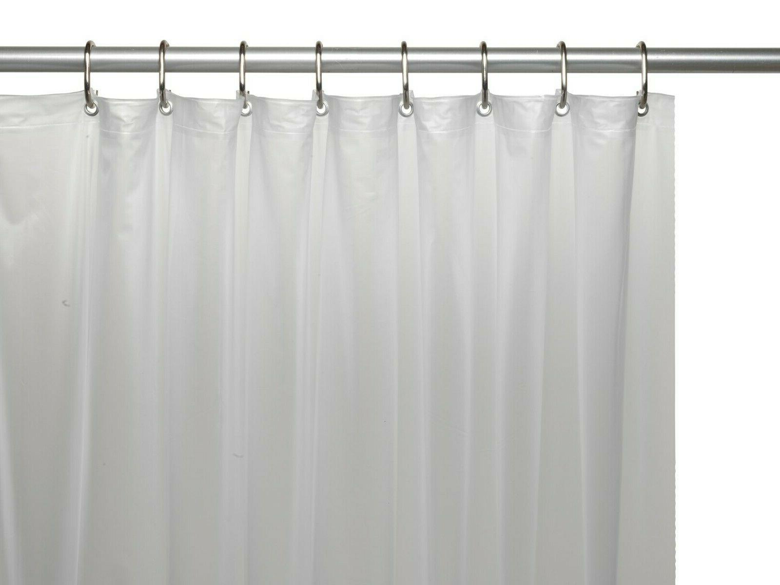 Hotel Duty Gauge Vinyl Shower Liners - & Sizes