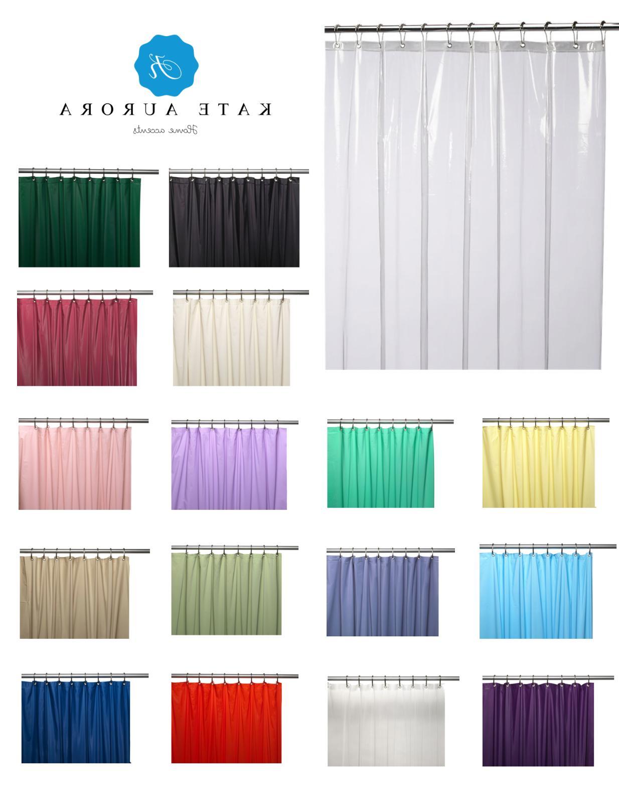 heavy duty 10 gauge vinyl shower curtain