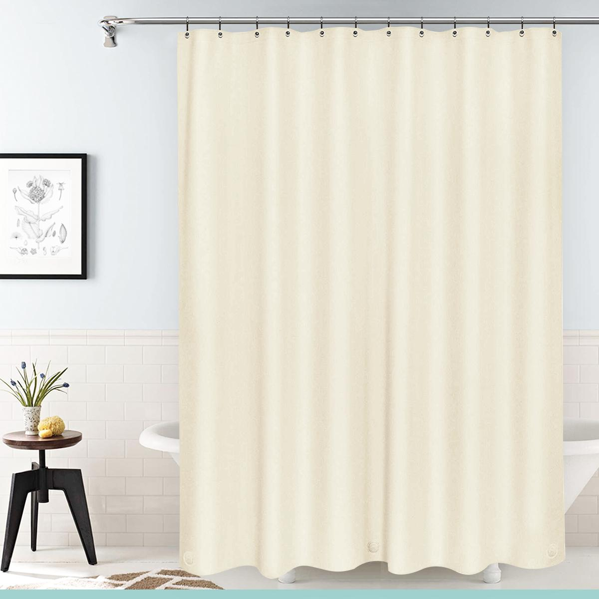 """NEW Deluxe Curtain Liner with Grommets 70""""X"""
