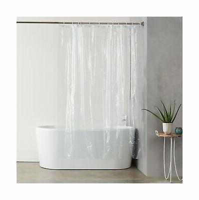 heavyweight clear shower curtain liner