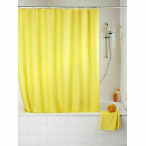 Heavyweight Mildew Shower Curtain Liner Metal Grommets