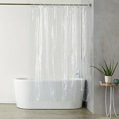 shower curtain ultra heavyweight 20 gauge pvc
