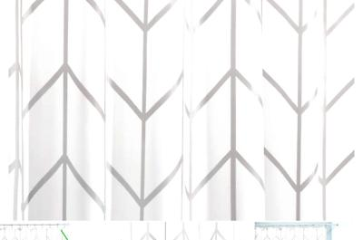 herringbone fabric polyester bathroom shower