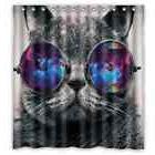 hipster nebula galaxy glass cat