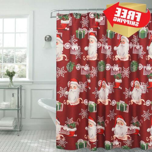 ho santa textured shower curtain 70 x